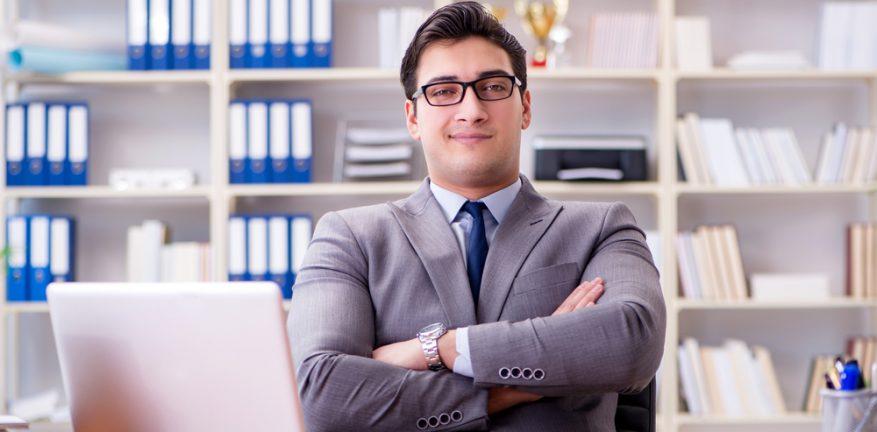 Overconfident Businessman