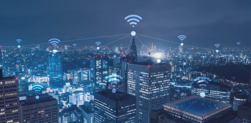 Wireless Connected Buildings