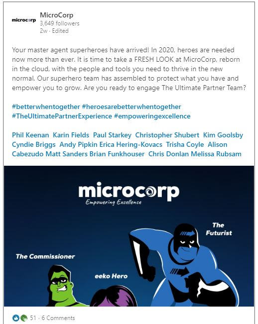 MicroCorp Re-brand