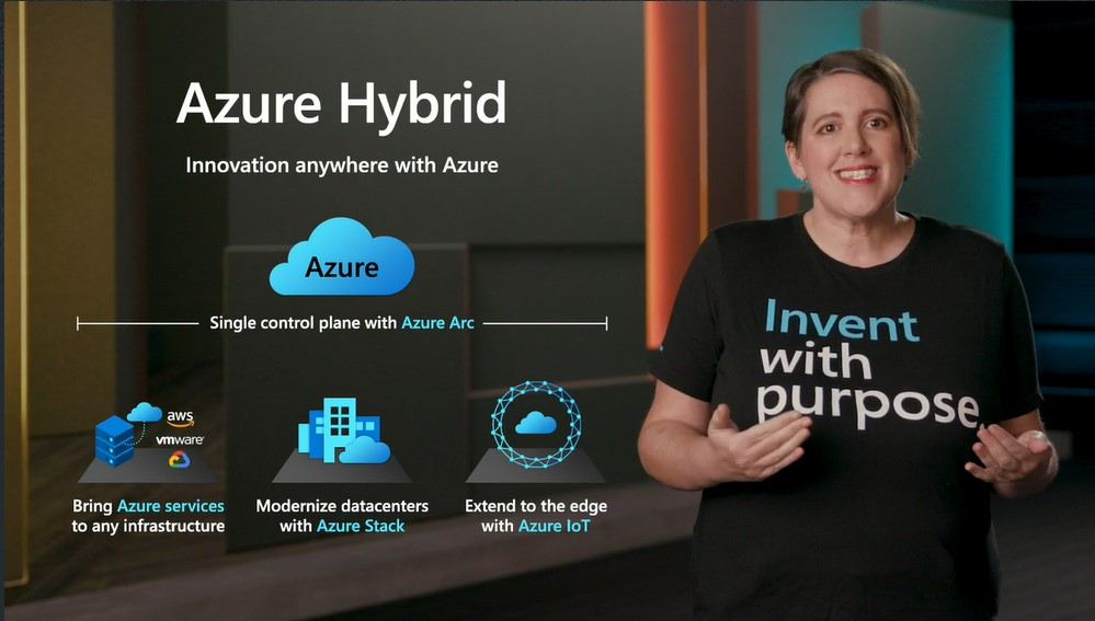 Microsoft's Erin Chapple at Ignite Virtual 2020