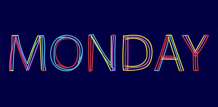 Monday doodled