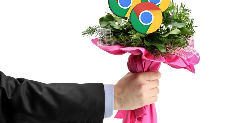 Google courting with Chrome