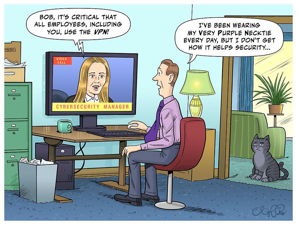 Sungard AS VPN Cartoon November