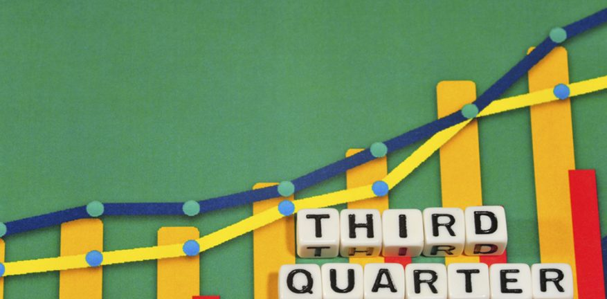 Third quarter growth