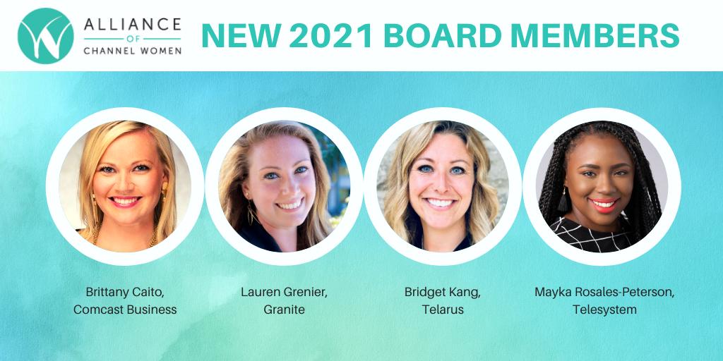 2021 ACW Board New Members