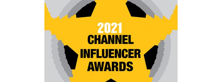 2021 Channel Influencer Awards badge