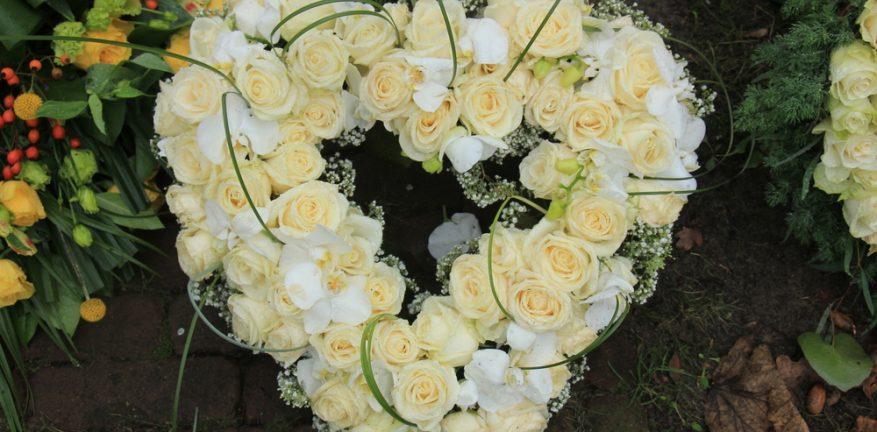Heart-Shaped Flower Arrangement