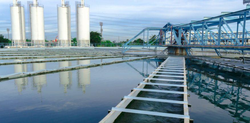 Industrial waterworks