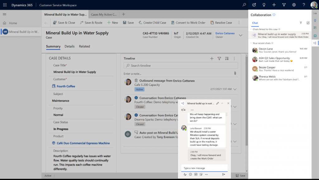 Microsoft Dynamics 365 Marketing with Teams integration