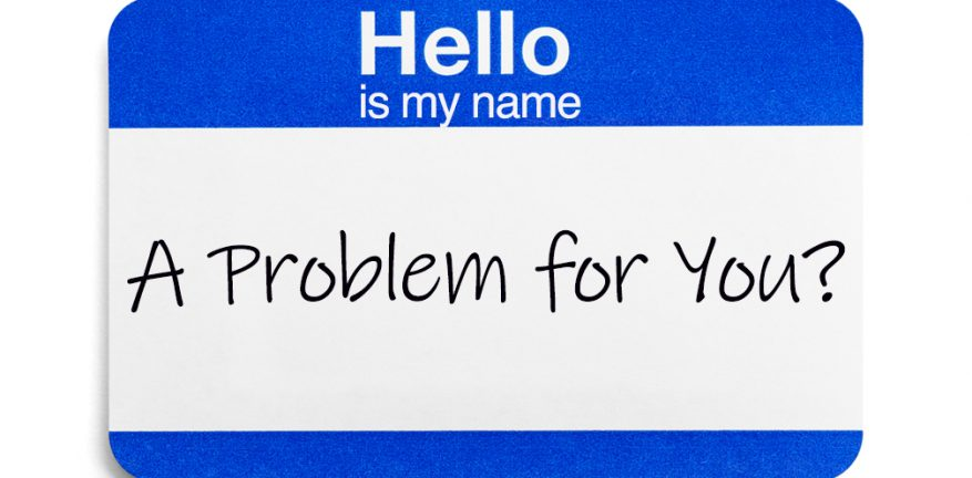 Name tag - is my name a problem