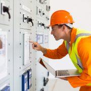 Power grid worker