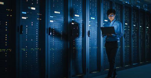 dark data center
