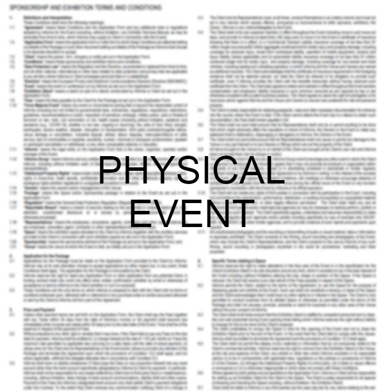 Channel Partners Physical Event Terms and Conditions thumbnail