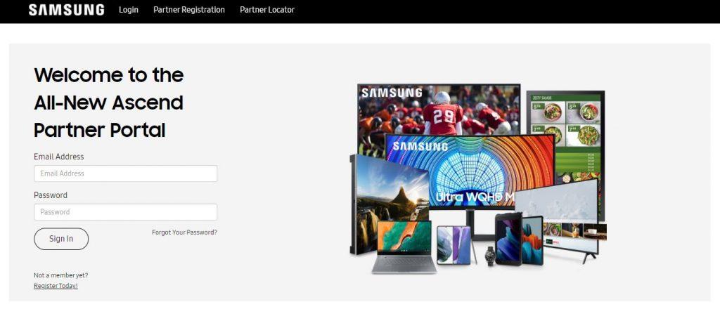 Samsung Ascend Partner Portal