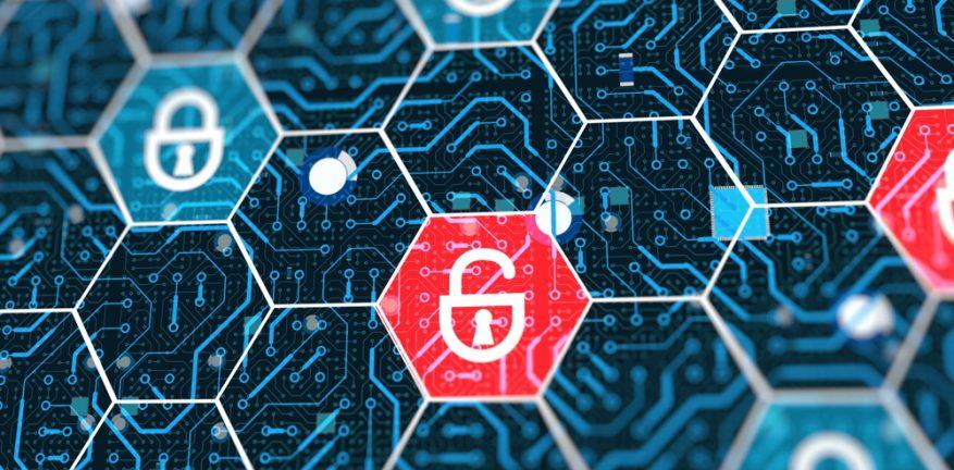 security locks on network notifying alerts