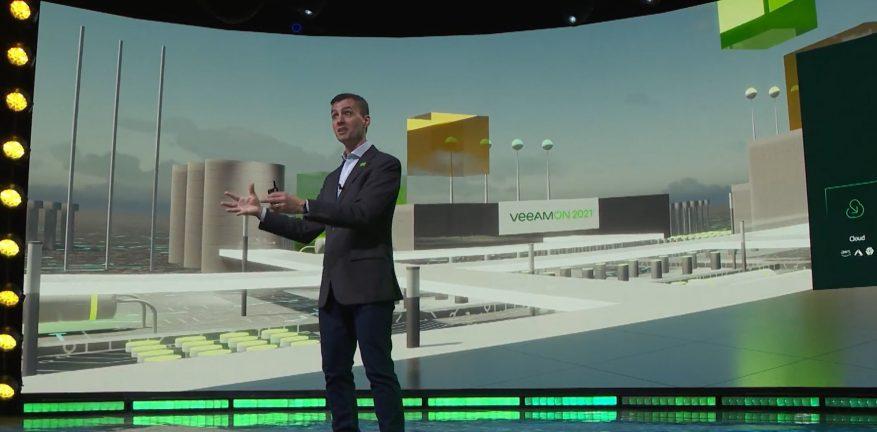 Veeam's Danny Allan at VeeamOn 2021