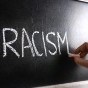 Racism on blackboard
