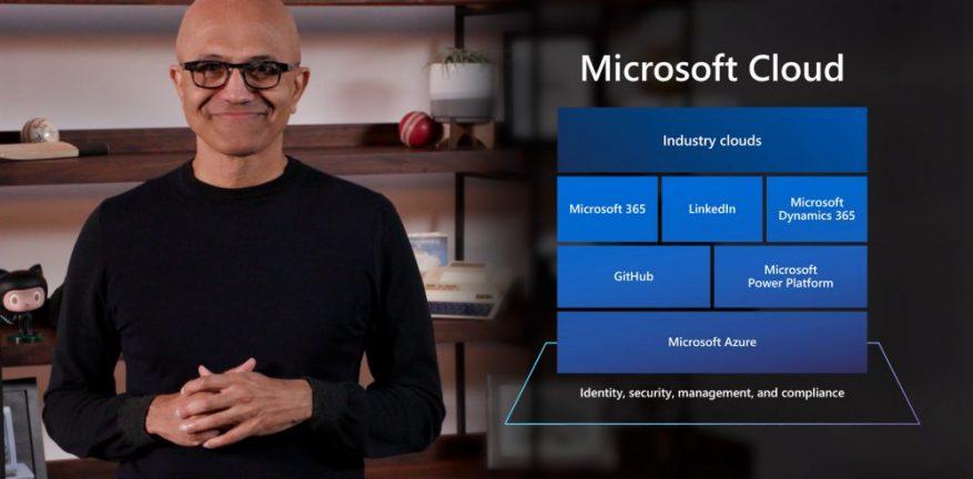 Satya Nadella at Microsoft Build 2021