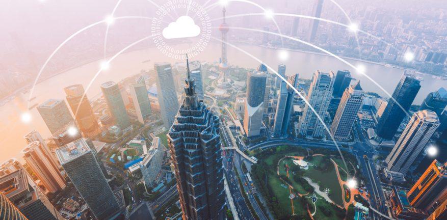 shanghai china smart city
