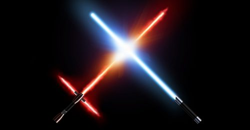JEDI light sabers