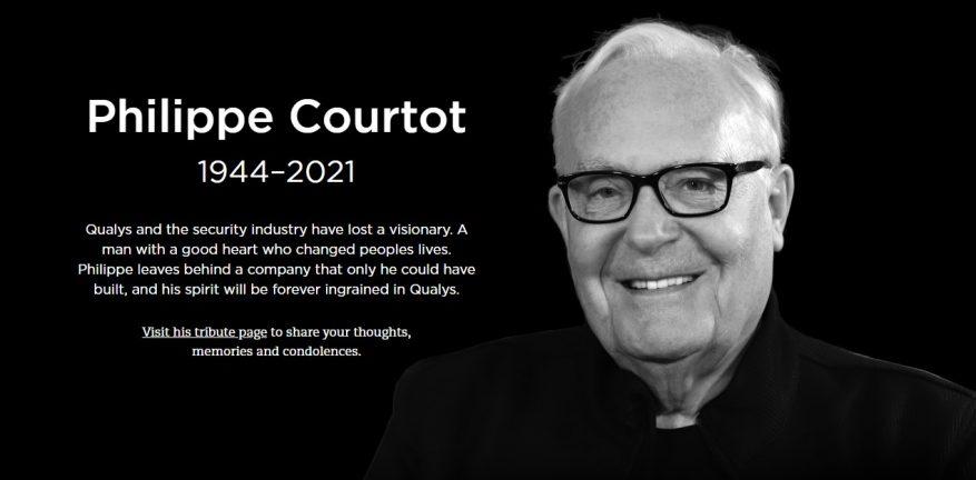 Qualys Philippe Courtot Obit