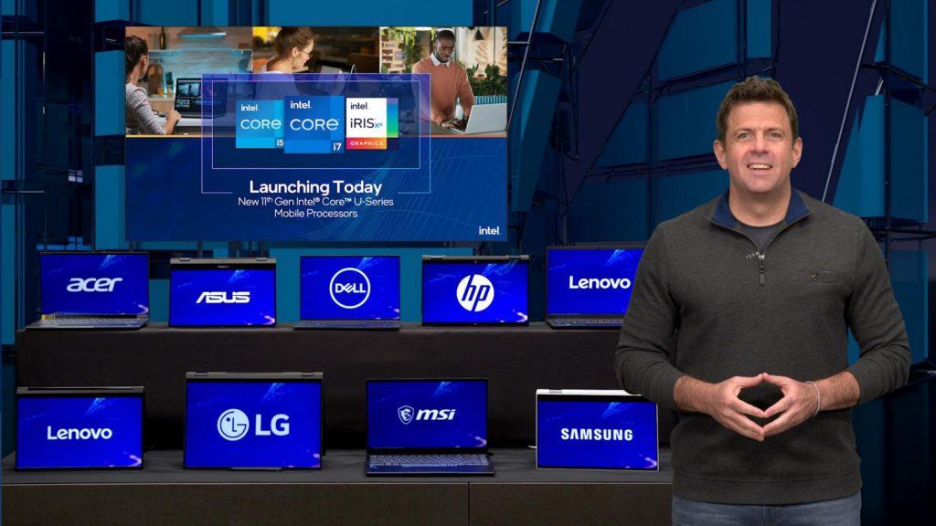 Intel's Steve Long at Computex 2021