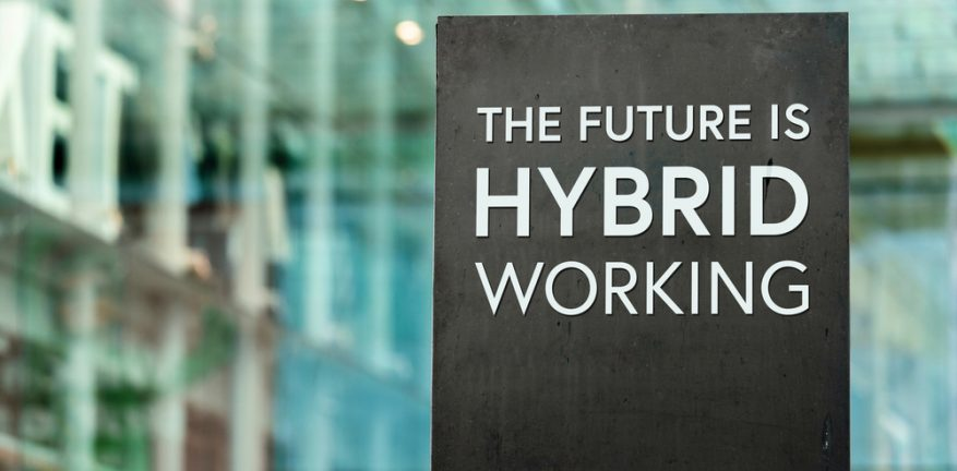 The Future Is Hybrid Working