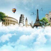 European monuments in the cloud