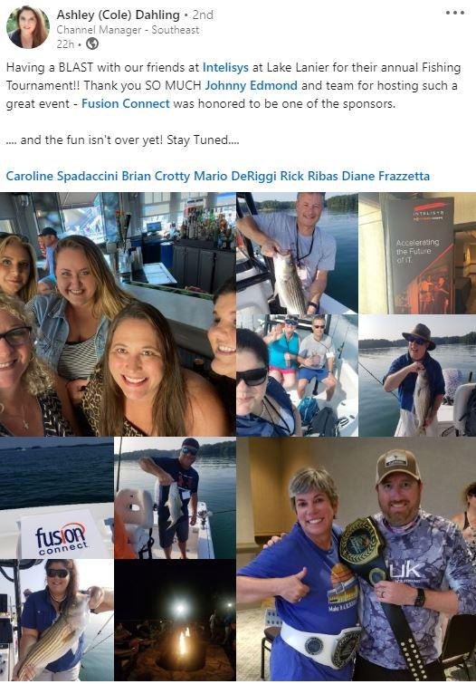 Intelisys Fishing Trip