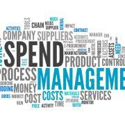 Business spend management word cloud