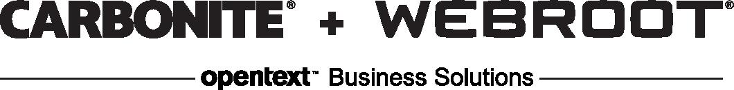 Carbonite Webroot 2021 logo