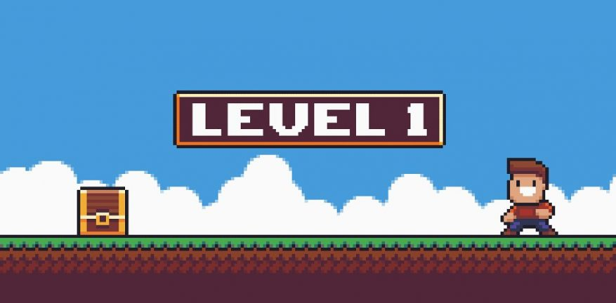 Level 1 on video game