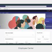 ServiceNow Employee Center_Microsoft Teams dashboard